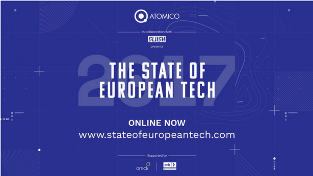 Checkout the 2017 State of European Tech report