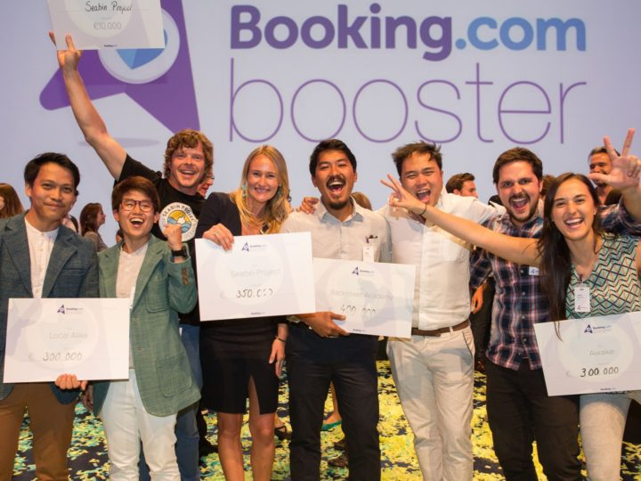 Booking.com announces Booster award recipients