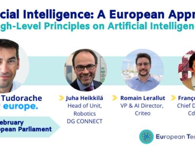 ArtificialIntelligence: A European Approach
