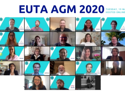 EUTA AGM brings members together online to plan for an ambitious year ahead