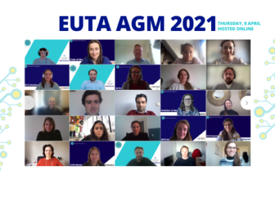 EUTA AGM 2021 | Members convene online to reflect on a digital year like no other, and to plan Alliance activities for the year ahead